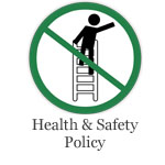 Health and safety policy link